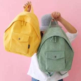 Plain / basic large capacity school bag / backpacks