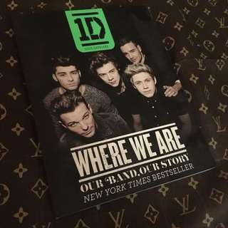 WHERE WE ARE Official Photobook (One Direction)