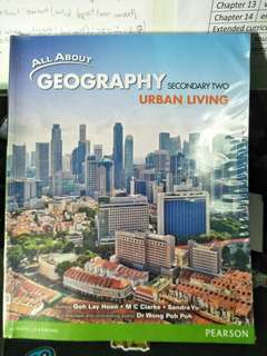 Lower Secondary geography textbook