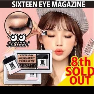 16brand sixteen eye magazine 3seconds shadow