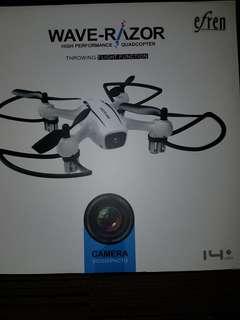 Wave-Razor Selfie Drone