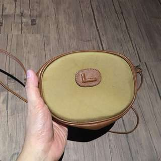 Authentic lancel paris sling bag