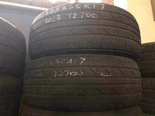 225/55R17 Firestone Used Tyres
