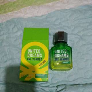 Benetton perfume(limited edition)