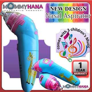 NASAL ASPIRATOR [NOSE CLEANER] : MOMMYHANA WITH MUSIC