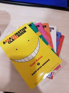 Komik Assassination classroom 1-7