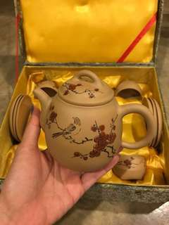 紫纱 Purple Clay Teapot Set