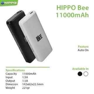 Powerbank Hippo Bee 11000 mAH Original Real Capacity