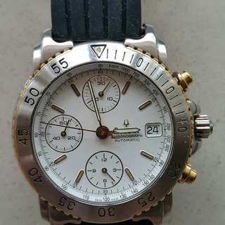 Bulova genuine Swiss Automatic chronograph watch