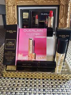 Guerlain  makeup bag x luxury samples