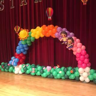 BALLOON ARCH | BALLOON COLUMN | HELIUM BALLOON | CENTERPIECE BALLOON | CUSTOMIZE BALLOON ARCH