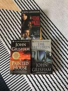 Books - John Grisham, (SOLD) James Patterson, Dan Brown