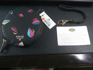 Clearance sale!!Dompet koin Multi Black Fossil