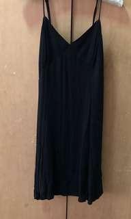 H&M Black Spaghetti Strap Dress