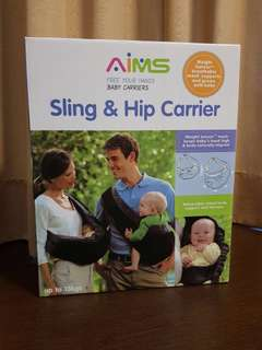 AIMS sling n hip baby carrier
