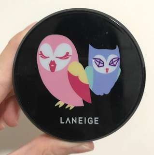 #Buy2get1free Laneige limited edition lucky chouette B.B. cushion case