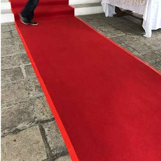 Rental | Roadshow Red Carpet | Roadshow Carpet | Wedding Red Carpet