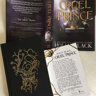 OwlCrate Jan 2018 box / The Cruel Prince