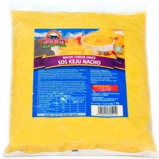 [HALAL] Swiss Bear Nacho Cheese Sauce Dip 1KG *READY STOCK*