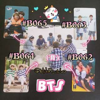 BTS - 專輯卡/YES卡( 拼圖系列十五 )