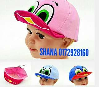 Cute Cartoon Baby Kids Baseball Cap Sun Hat