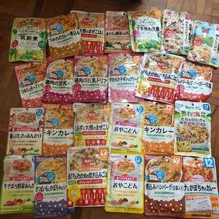 Wakado & Morinaga Food Pouches