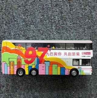 CORGI 1997 TVB Bus Die Cast 1/76