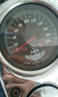 Honda Phantom TA200 Tank and speedometer