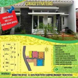Rumah depok lokasi strategis