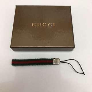 Gucci 電話繩 (綠紅色)有盒