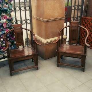 ♡楠木圈椅♡