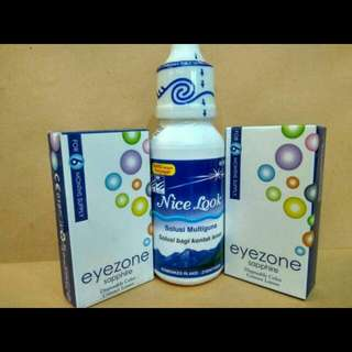 Jual Murah Promo Softlens + Air Softlens 60ml