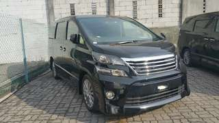 TOYOTA VELLFIRE 2.4 GOLDEN EYE 2 UNREG 2014