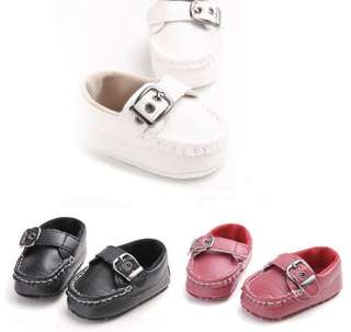 Infant Baby Buckle Shoes