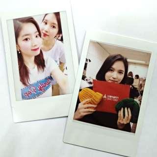 🚚 Twice多賢和Mina一月ig拍立得✨自己的女神自己印!