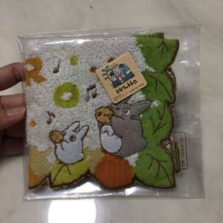 BNIB My Neighbour Totoro Handkerchief