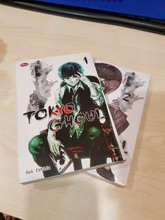 Tokyo ghoul 1-2