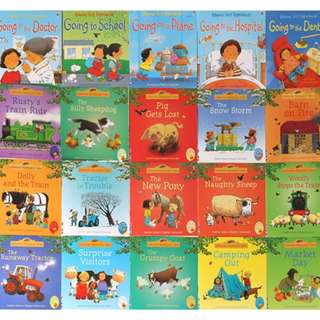 20 books set – Usborne Farmyard Tales and First Experiences