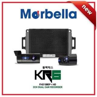 Marbella KR6 2ch HD car camera (Made in Korea)