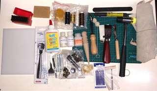 皮革用品、皮具DIY、DIY、基本、套裝 (已售)