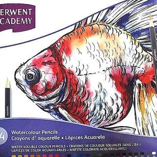 Derwent Academy Watercolour Pencils 24