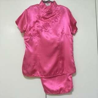Pink Chinese Costume