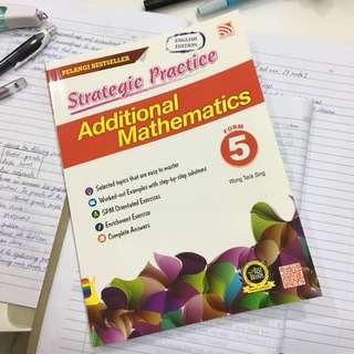 SPM Additional Mathematics Workbook
