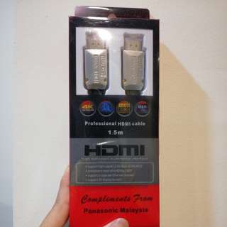 Professional HDMI cable 1.5M