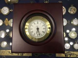 Quartz Marine Chronometer in Wooden Box