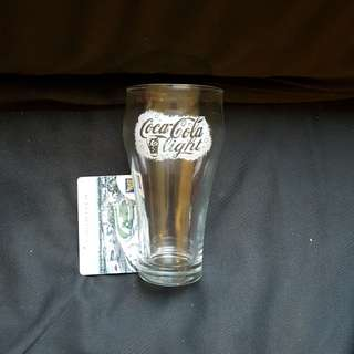 Coke Light Glass