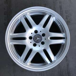 "Used 18"" Original Barbus Rims"
