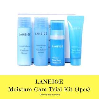 LANEIGE Moisture Care Trial Kit (4pcs)
