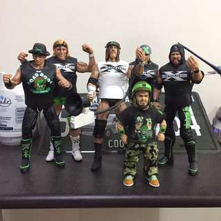 Wwe DX set mattel Elite