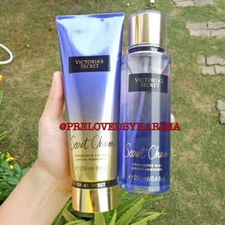 Victoria's Secret Fragrance Lotion 236ml & Mist 250ml - Secret Charm